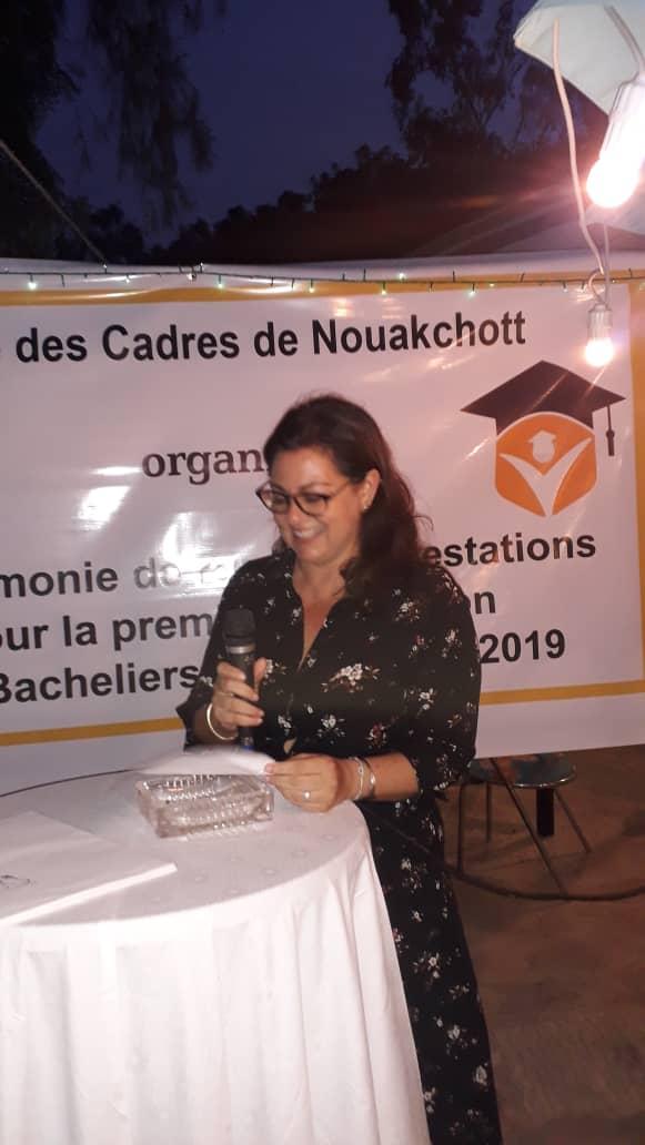 Discours de Madame Reaich, Directrice de l'EDC