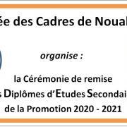 Affiche cérémonie 2020 2021