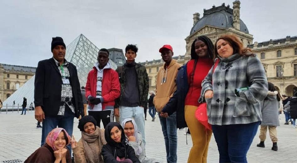 La pyramide du Musée du Louvre